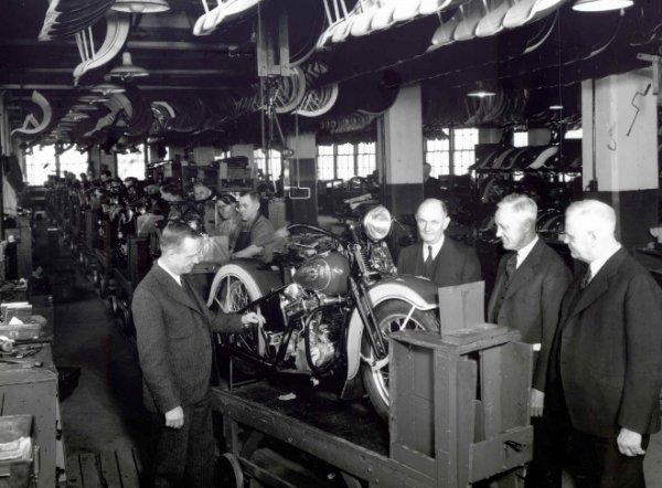 100 yıllık başarı öyküsü: Harley Davidson #6