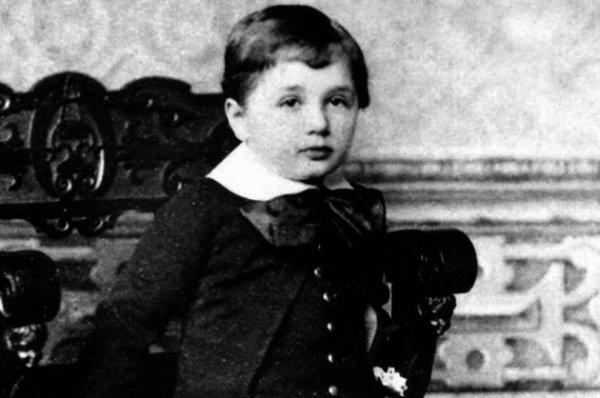 Albert Einstein'ın 1896 yılından kalma karnesi #1