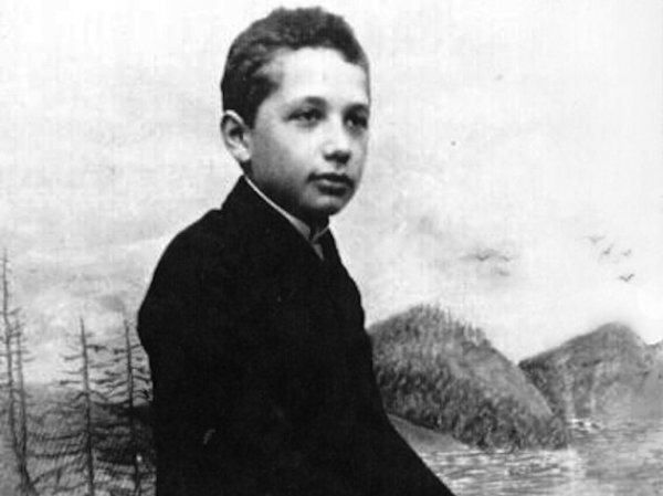 Albert Einstein'ın 1896 yılından kalma karnesi #2