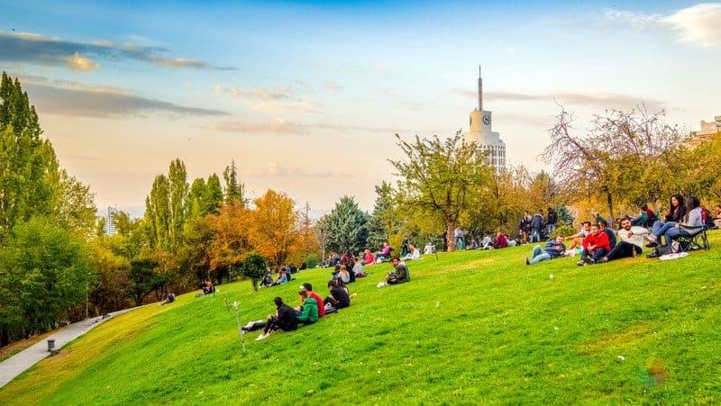 Segmenler Parkı Ankara görülecek yerler