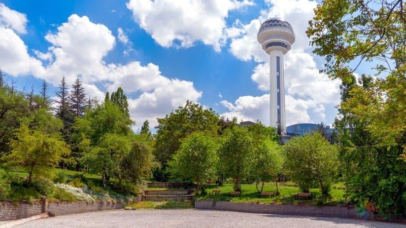 Atakule Ankara'da görülmesi gereken yerler
