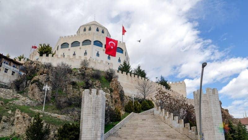 Estergon Kalesi Ankara seyahati