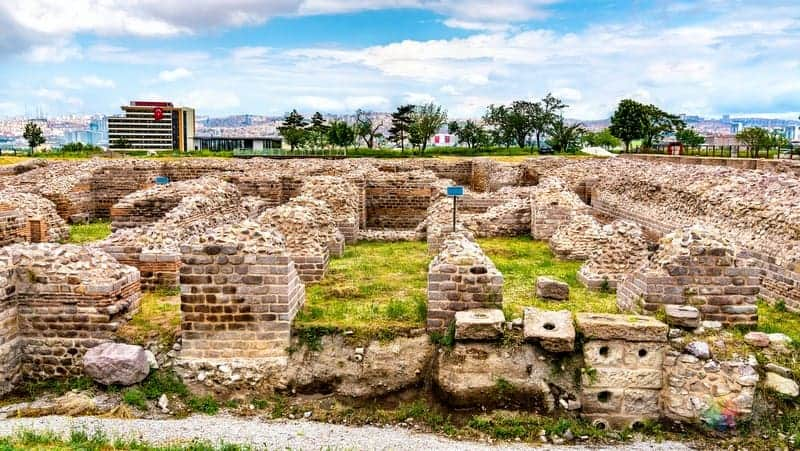Ankara gezilecek yerler Roma Hamamı