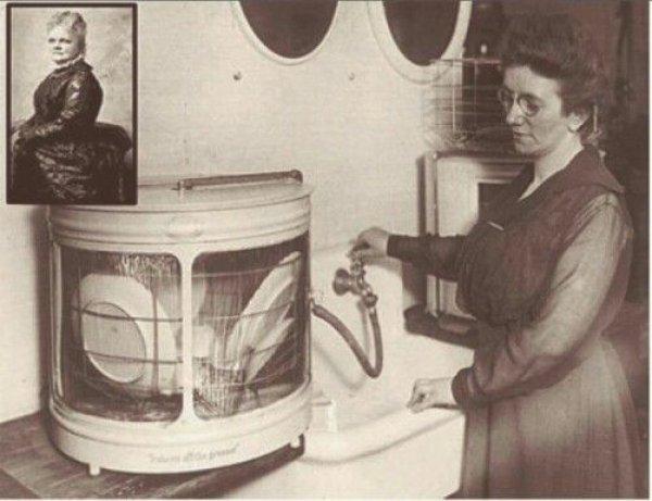 Bulaşık makinesini bulan kadının ilginç icat serüveni #3