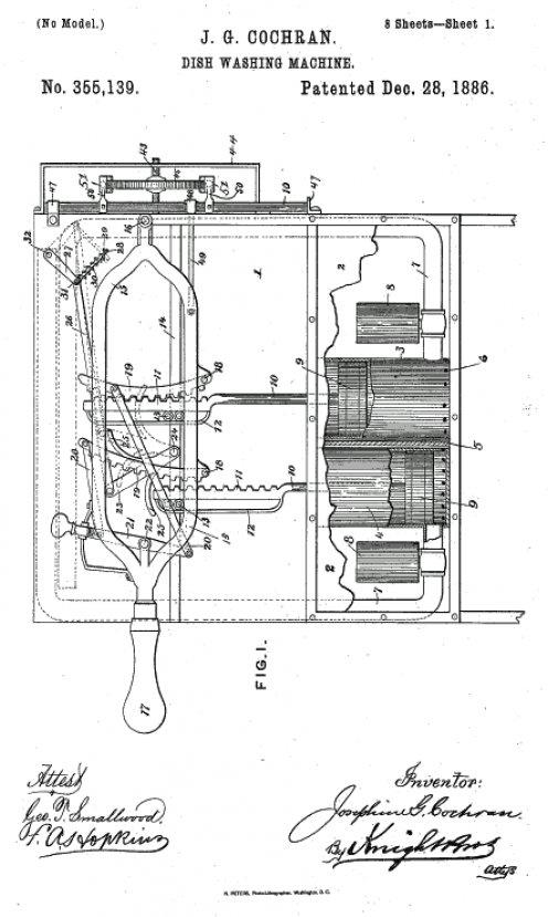 Bulaşık makinesini bulan kadının ilginç icat serüveni #5
