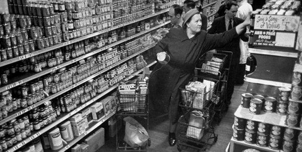 Dünyanın ilk modern süpermarketinde self servis devri #3