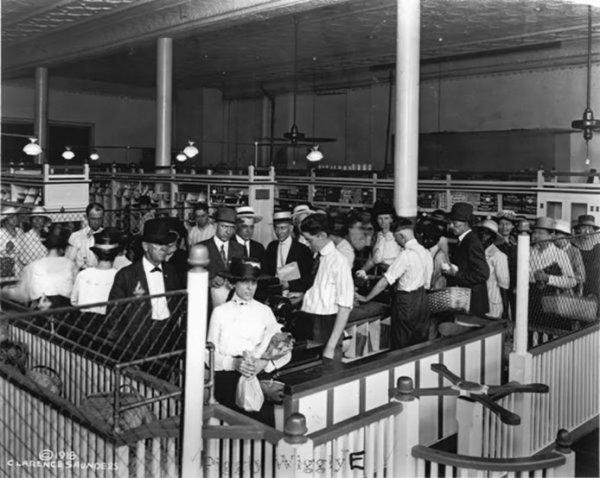 Dünyanın ilk modern süpermarketinde self servis devri #4