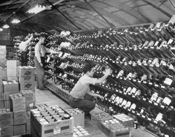 Dünyanın ilk modern süpermarketinde self servis devri #5
