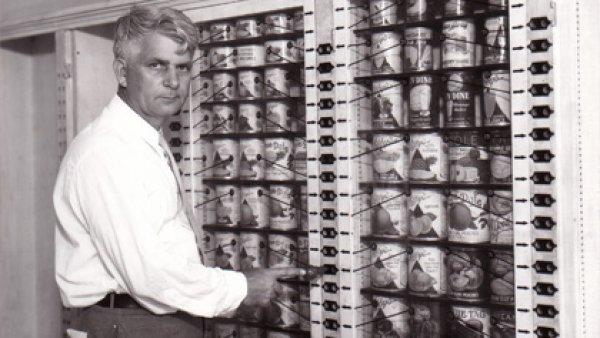 Dünyanın ilk modern süpermarketinde self servis devri #6