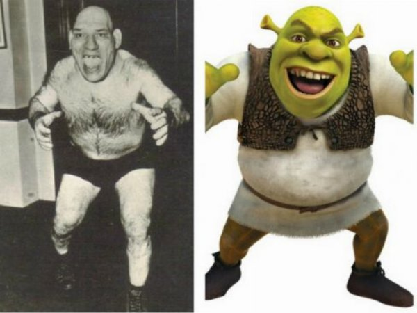 Gerçek Shrek: Maurice Tillet in ilginç hikâyesi #7
