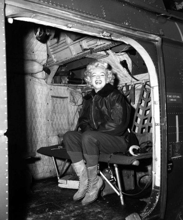 Marilyn Monroe nun Türk askerine moral verdiği yıllar #5