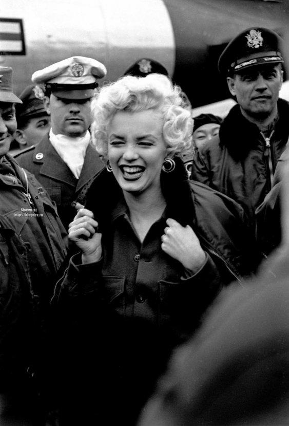 Marilyn Monroe nun Türk askerine moral verdiği yıllar #6