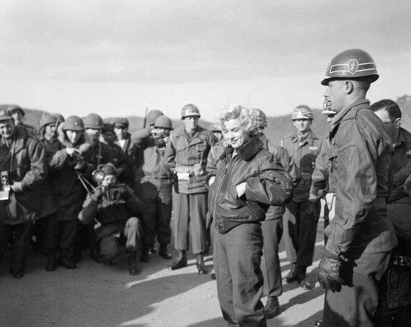 Marilyn Monroe nun Türk askerine moral verdiği yıllar #9