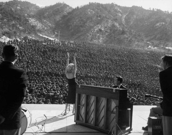 Marilyn Monroe nun Türk askerine moral verdiği yıllar #10