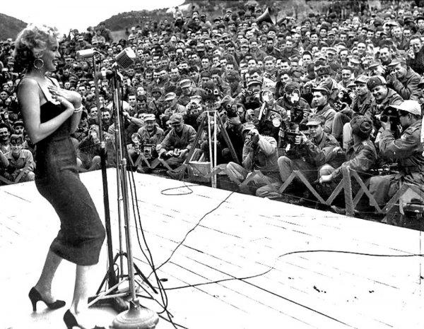 Marilyn Monroe nun Türk askerine moral verdiği yıllar #14