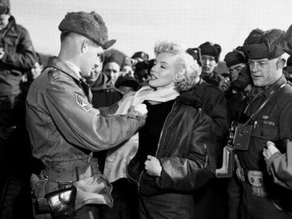 Marilyn Monroe nun Türk askerine moral verdiği yıllar #15