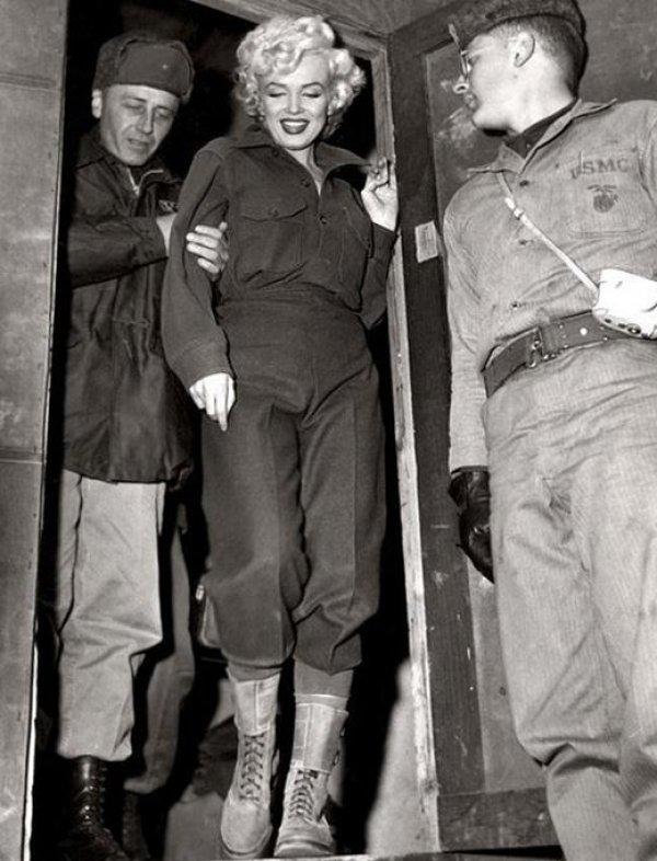 Marilyn Monroe nun Türk askerine moral verdiği yıllar #17