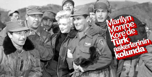 Marilyn Monroe'nun Türk askerine moral verdiği yıllar