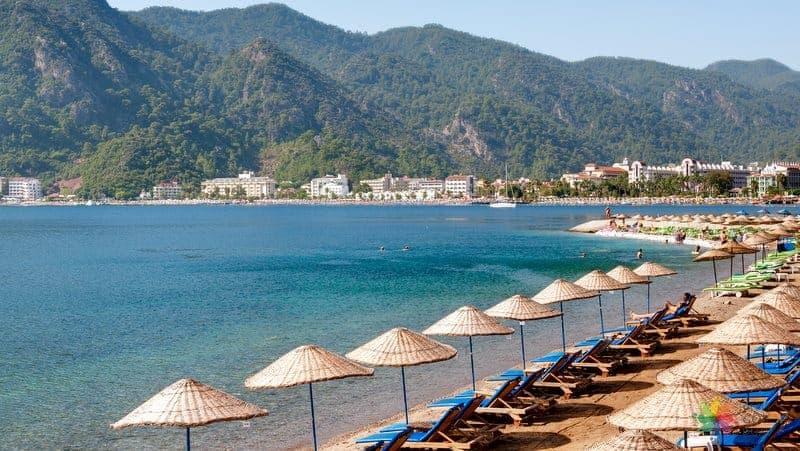 marmaris gezilecek yerler plajlar