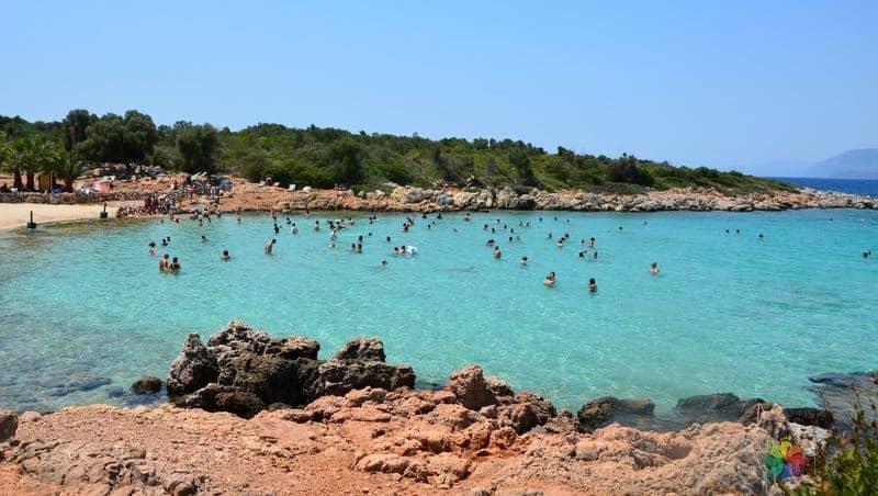 Marmaris gezilecek yerler Kleopatra Adası
