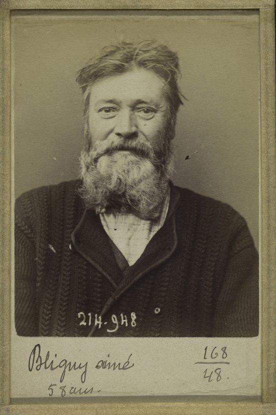 Sabıka fotoğraflarının mucidi: Alphonse Bertillon #10