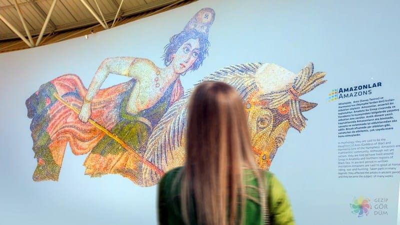 Haleplibahçe Mozaik Müzesi Şanlıurfa'da gezilmesi gereken yerler