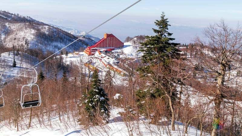 kartepe kayak merkezi Sapanca gezilecek yerler