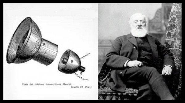 Talihsiz mucit Antonio Meucci telefonu Graham Bell e kaptırdı #4