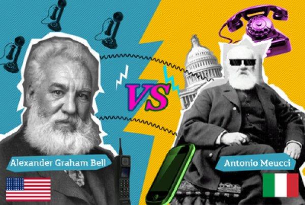 Talihsiz mucit Antonio Meucci telefonu Graham Bell e kaptırdı #6