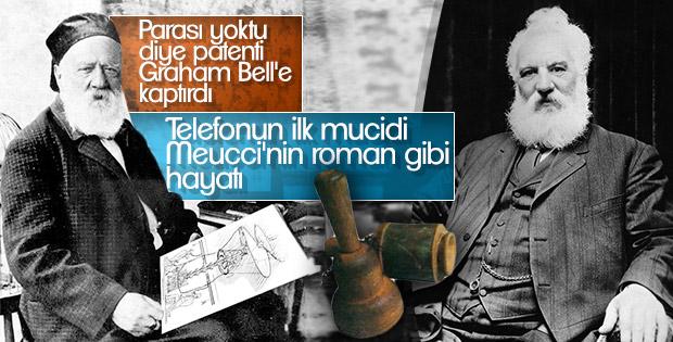 Talihsiz mucit Antonio Meucci telefonu Graham Bell'e kaptırdı